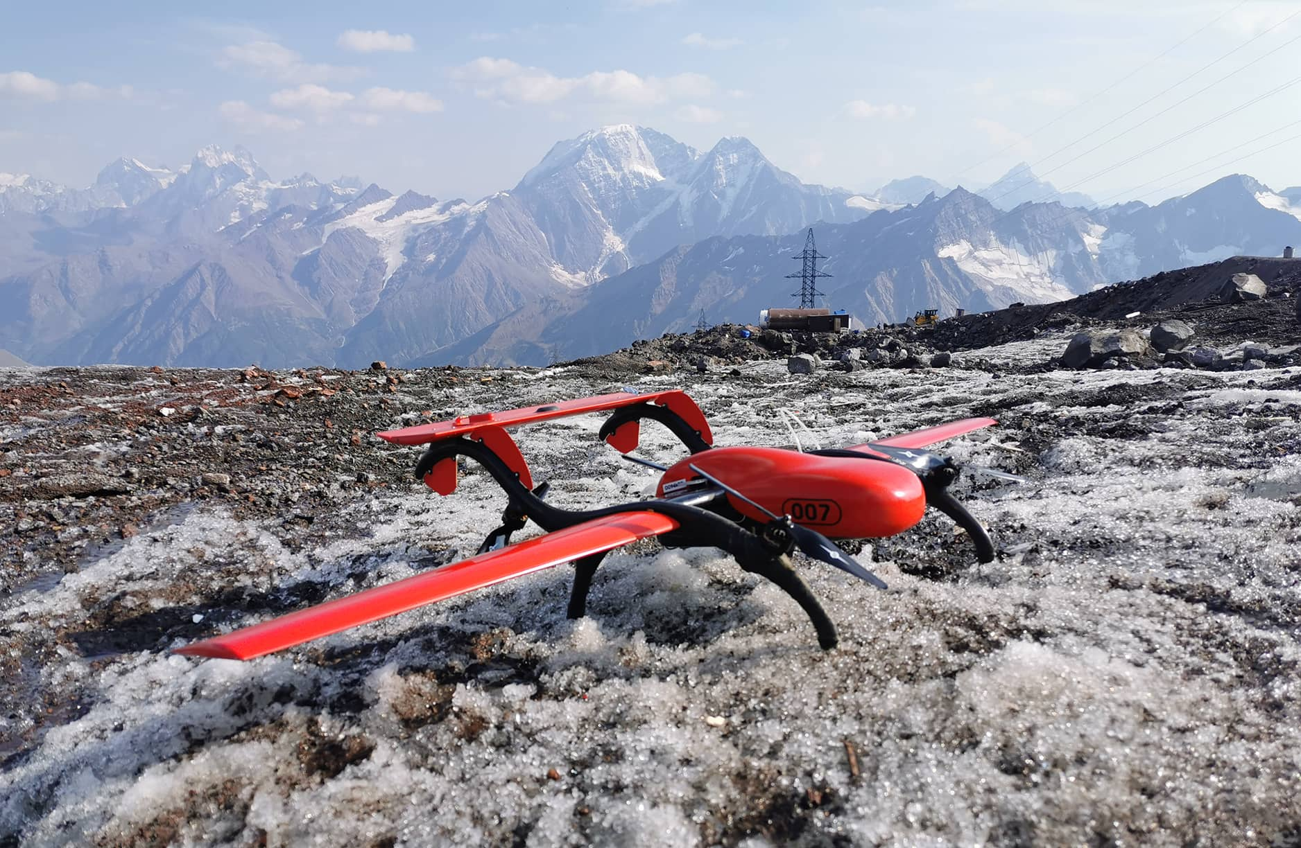 AERIAL PHOTOGRAPHY ON ELBRUS